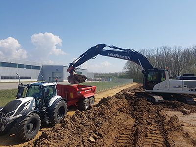 Baustellentransporte, Erdaushub- Sailer-Rohrwild GbR, Regensburg, Obertraubling
