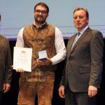 Preisverleihung Bester Jungbauer - Sailer-Rohrwild GbR Regensburg, Obertraubling